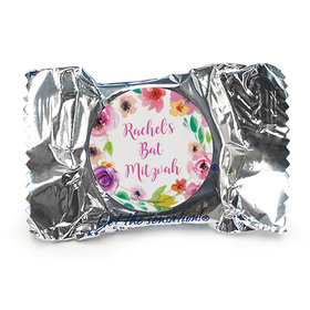 Personalized Bonnie Marcus Bat Mitzvah Floral Commencement York Peppermint Patties