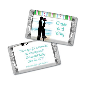 Tropical I Do Engagement Personalized Miniature Wrappers