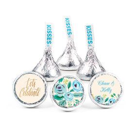 """Here's Something Blue 3/4"""" Sticker (108 Stickers)Engagement"""