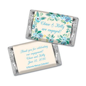 Here's Something Blue Engagement Personalized Miniature Wrappers