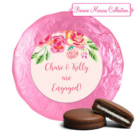 In the Pink Engagement Favors Belgian Chocolate Drenched Oreo Assembled (24 Pack)
