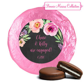 Bonnie Marcus Collection Wedding Engagement Party Favors Belgian Chocolate Covered Oreo Cookies (24 Pack)