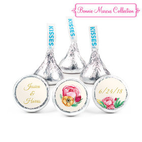 Personalized Hershey's Kisses - Bonnie Marcus Engagement Stripes (50 Pack)
