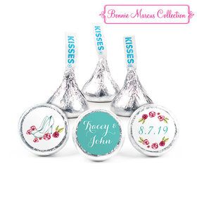 Personalized Hershey's Kisses - Bonnie Marcus Engagement Chic Wedding Couple (50 Pack)