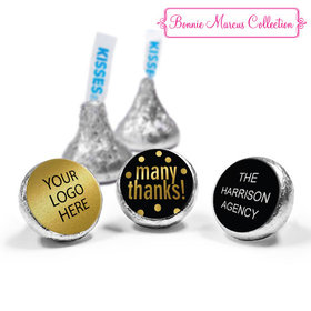 Personalized Bonnie Marcus Many Thanks Business Hershey's Kisses (50 Pack)