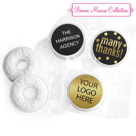 Personalized Bonnie Marcus Many Thanks Business Life Savers Mints