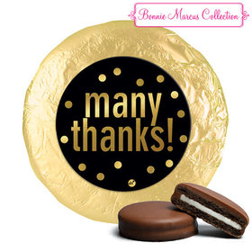 Personalized Bonnie Marcus Many Thanks Business Chocolate Covered Oreos (24 Pack)
