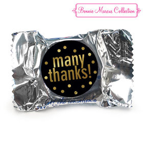 Personalized Bonnie Marcus Many Thanks Business York Peppermint Patties (84 Pack)