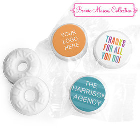Personalized Bonnie Marcus Stripes Business Thank you Life Savers Mints