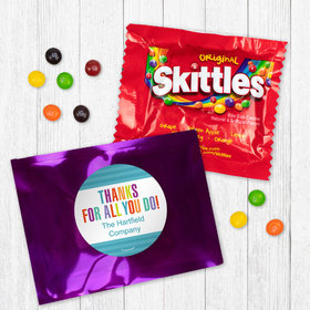 Personalized Business Thank You Stripes - Skittles