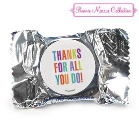 Personalized Bonnie Marcus Stripes Business Thank you York Peppermint Patties