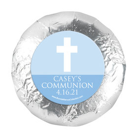"Personalized 1.25"" Stickers - Boy First Communion Religious Symbols (48 Stickers)"