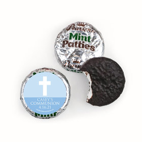 Personalized Pearson's Mint Patties - Boy First Communion Religious Symbols