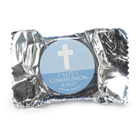 Personalized York Peppermint Patties - Boy First Communion Religious Symbols