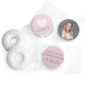 Personalized Life Savers Mints - Girl First Communion Religious Symbols
