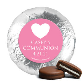 Personalized Girl First Communion Religious Symbols Chocolate Covered Oreos (24 Pack)