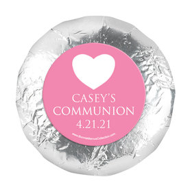 "Personalized 1.25"" Stickers - Girl First Communion Religious Symbols (48 Stickers)"