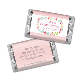Personalized Bonnie Marcus Girl First Communion Floral Elegance Mini Wrappers Only