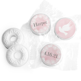 Personalized Life Savers Mints - Girl First Communion Darling Roses