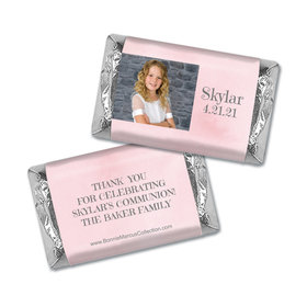 Personalized Bonnie Marcus Girl First Communion Darling Roses Mini Wrappers Only