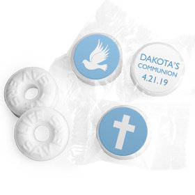 Personalized Life Savers Mints - Boy First Communion Religious Icons