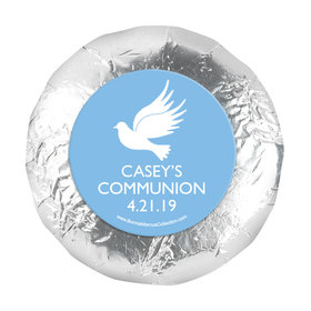 "Personalized 1.25"" Stickers - Boy First Communion Religious Icons (48 Stickers)"