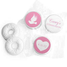 Personalized Life Savers Mints - Girl First Communion Religious Icons