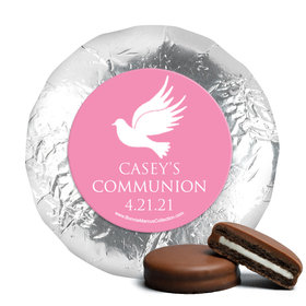 Personalized Girl First Communion Religious Icons Chocolate Covered Oreos (24 Pack)