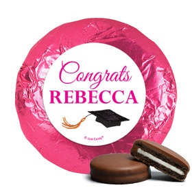 Personalized Milk Chocolate Covered Oreos - Bonnie Marcus Gorgeous Grad Brunette