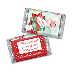 Pretty Package Holiday Personalized Miniature Wrappers