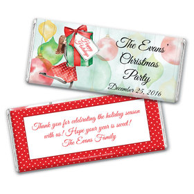 Pretty Package Personalized Candy Bar - Wrapper Only