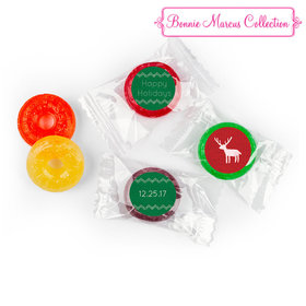 Happy Holidays Personalized LIFE SAVERS 5 Flavor Hard Candy Assembled