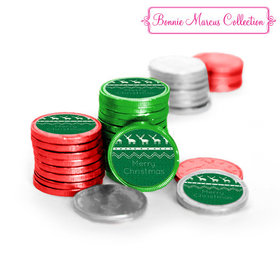 Bonnie Marcus Holiday Wishes Chocolate Coins (84 Pack)