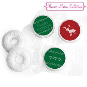 Happy Holidays Personalized LIFE SAVERS Mints Assembled