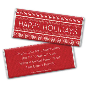 Holiday Cheer Personalized Candy Bar - Wrapper Only