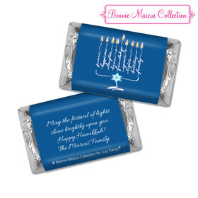 Personalized Bonnie Marcus Hershey's Miniatures - Hanukkah Lights