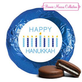 Personalized Chocolate Covered Oreos - Hanukkah Candles