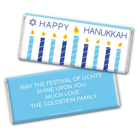 Personalized Bonnie Marcus Chocolate Bar Wrapper Only - Hanukkah Simply