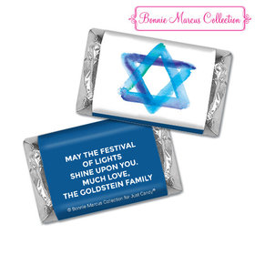 Personalized Bonnie Marcus Hershey's Miniatures - Hanukkah Star of David