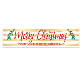 Personalized Bonnie Marcus Christmas Chic 5 Ft. Banner
