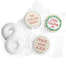Personalized Bonnie Marcus A Chic Christmas Life Savers Mints
