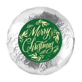 """Bonnie Marcus Festive Leaves Christmas 1.25"""" Stickers (48 Stickers)"""