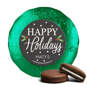 Personalized Bonnie Marcus Snowy Santa Christmas Chocolate Covered Oreos