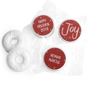 Personalized Bonnie Marcus Christmas Joy to the World Life Savers Mints