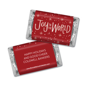 Personalized Bonnie Marcus Joy to the World Christmas Mini Wrappers Only