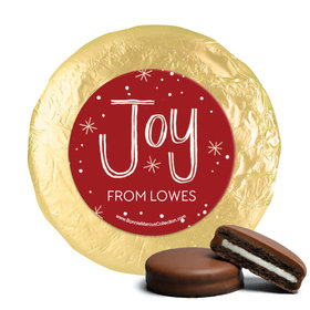 Personalized Bonnie Marcus Joy to the World Christmas Chocolate Covered Oreos