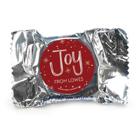 Personalized Bonnie Marcus Joy to the World Christmas York Peppermint Patties