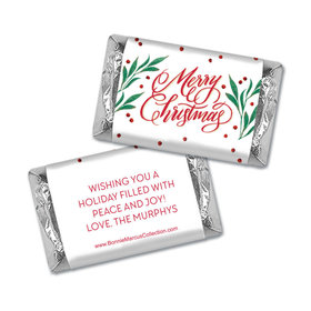 Personalized Bonnie Marcus Holly-day Joy Christmas Mini Wrappers Only