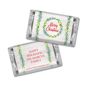 Personalized Bonnie Marcus Festive Foliage Christmas Mini Wrappers Only