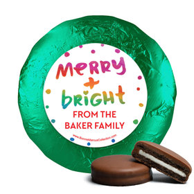 Personalized Bonnie Marcus Very Merry Christmas Chocolate Covered Oreos